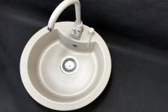 Bateria kuchenna AGLO - Jasny beż