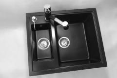 Bateria kuchenna HAMMER - Cała czarna