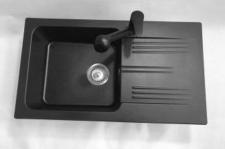 Bateria kuchenna HAND – Cała czarna