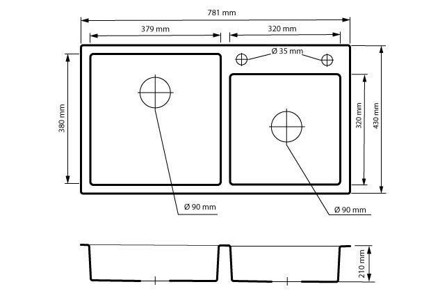 inox-poltorej-komory-rysunek-techniczny