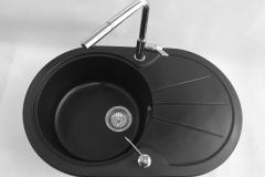 Bateria kuchenna LINEA - Chrom