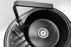 Bateria kuchenna NOOK - Cała czarna