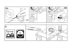 Syfon przyścienny automatyczny dwukomorowy ? Wersja Prestige