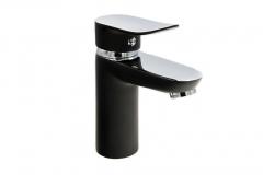Bateria umywalkowa SKY - Chrom / Czarna