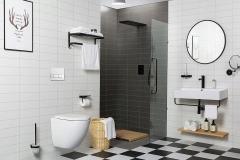 Zestaw podtynkowy WC GEBERIT DUO RIMLESS 7w1