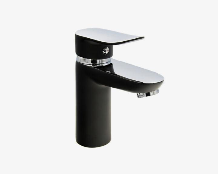 Bateria umywalkowa SKY – Chrom / Czarna