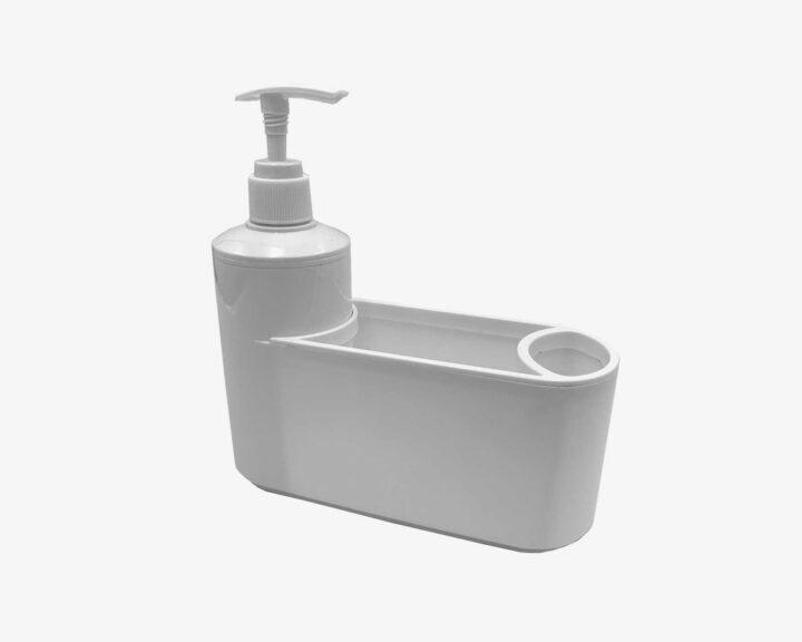 Dozownik do płynu z pojemnikiem – Biały