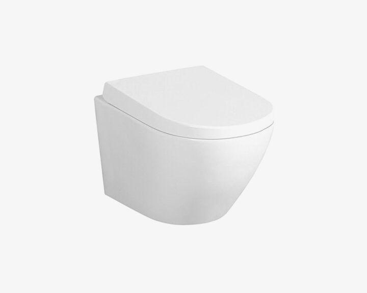 Miska WC podwieszana DUO RIMLESS + Deska