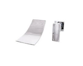 Bateria umywalkowa podtynkowa CARO kaskada – Chrom
